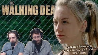 """The Walking Dead Season 4 Episode 1 Reaction """"30 Days Without An Accident"""""""