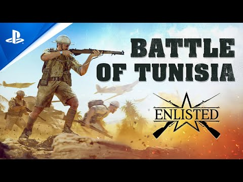 Enlisted - Battle of Tunisia Closed Beta Event | PS5