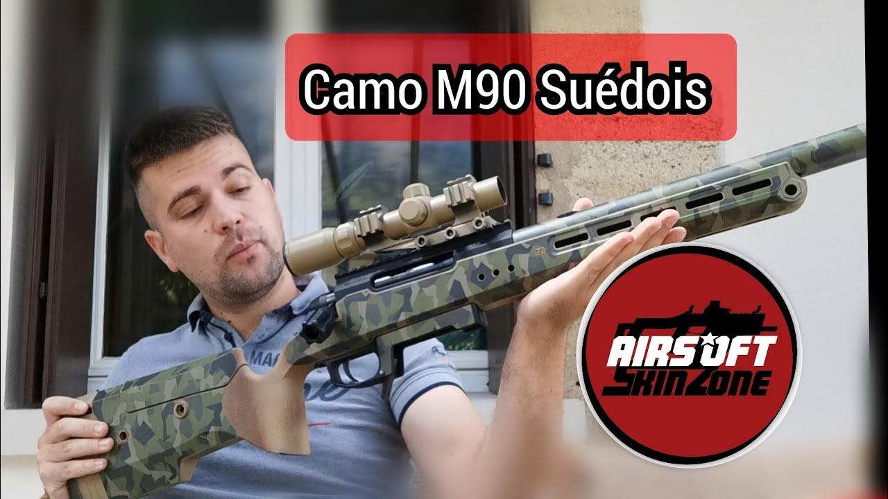 AIRSOFT SkinSone / M90 / TAC41 / test et Avis