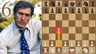 """""""The Applause""""   Fischer vs Spassky   (1972)   Game 6"""