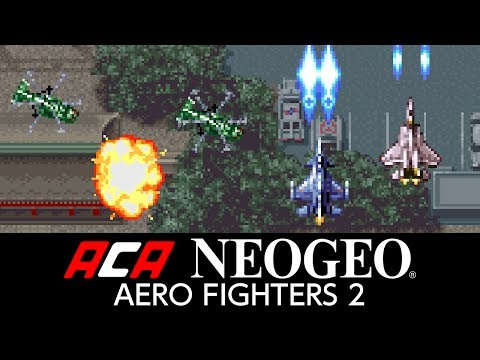ACA NEOGEO AERO FIGHTERS 2 Trailer