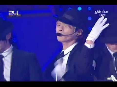 091210 SHINee & Super Junior - Beat It + Bad