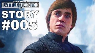 STAR WARS BATTLEFRONT 2 STORY #005 Treffen mit Luke Skywalker [Deutsch]