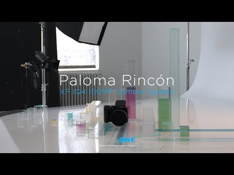 Paloma Rincón with the XF IQ4 150MP Camera System | Phase One