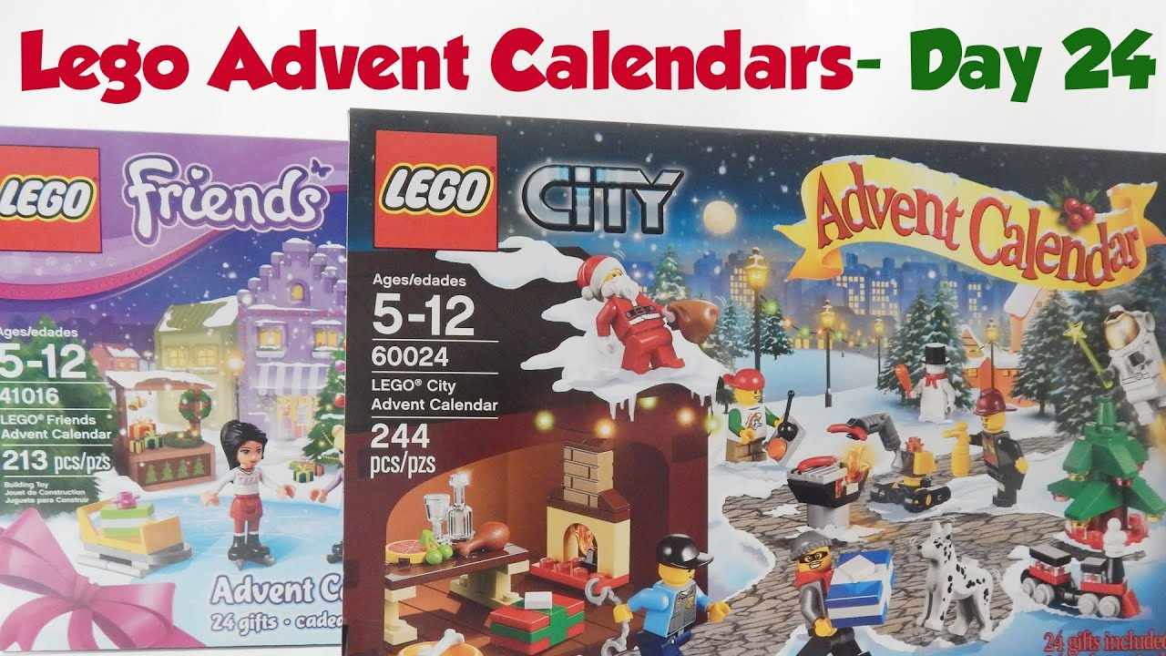 lego city and lego friends advent calendars day 24. Black Bedroom Furniture Sets. Home Design Ideas