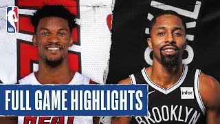 HEAT at NETS | FULL GAME HIGHLIGHTS | January 10, 2020