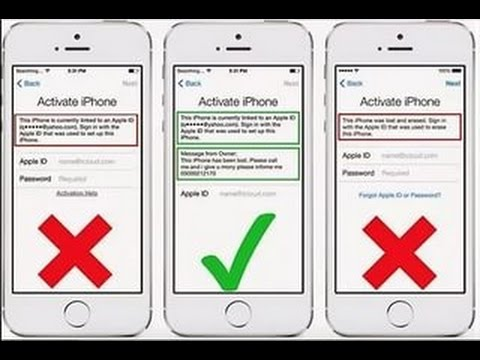 Как разблокировать icloud на iphone