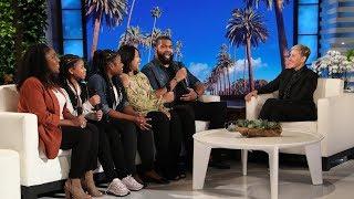 Ellen Has More Surprises for Malachi and His 'Superhero' Mom