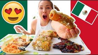 TRYING MEXICAN FOOD 먹방 MUKBANG