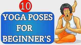 Yoga for beginners top 10 easy yoga position for beginners lifeology facts//Psychology facts