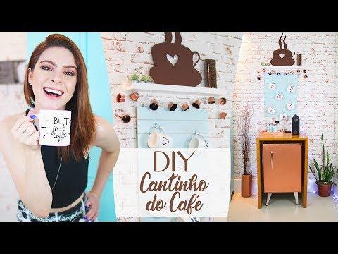 DIY :: Coffee Station! MUITAS DICAS TOPs! #decor #café