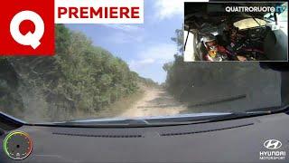 Che effetto fa un'auto da rally a 200 km/h in sterrato? Hyundai i20 WRC