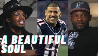Fred Taylor and Cam Newton share EXCLUSIVE stories about Aaron Hernandez.