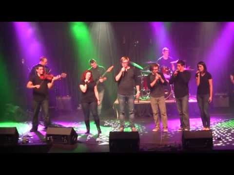 Baixar Radioactive (LIVE) Lindsey Stirling & Pentatonix Version - Geneva College MGN 2013