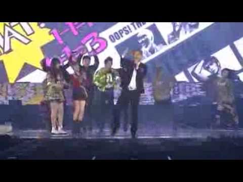 [Super Junior SS4 DVD] Oops!! - Super junior & F(x)