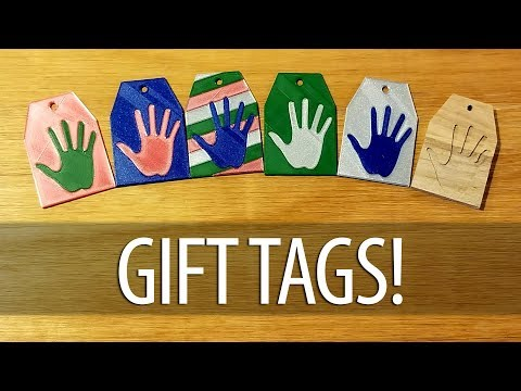 Custom Christmas Gift Tags - Using Fusion 360, Prusa Multi Material, & Inventables Carvey CNC