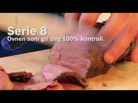 Bosch Serie 8 ovn - perfekt stekt roastbeef