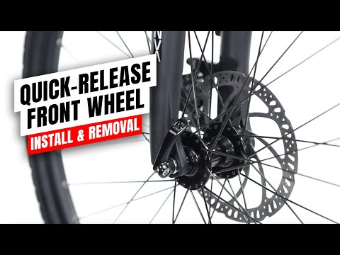 Juiced Bikes Quick-Release Front Wheel Install & Removal