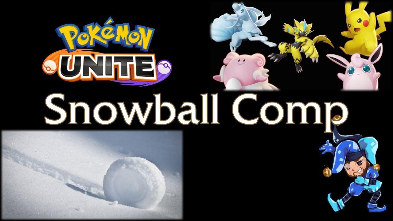 Early Game Snowball Comp - Bottom Lane Pikachu - Pokemon Unite