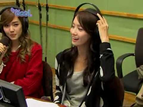 Yoona rapping The Boys 'Yes we go for more than zero' Kiss the Radio Oct21.2011 GIRLS' GENERATION