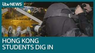 Why Hong Kong student are drilling holes in eggs   ITV News