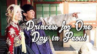 I got a Korean Traditional Makeover | Gyeongbokgung Palace