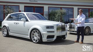 The Novitec Cullinan Overdose is the CRAZIEST Rolls-Royce EVER!