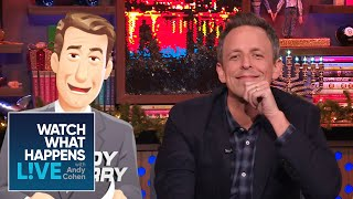 Shady Late Night Questions for Seth Meyers | WWHL