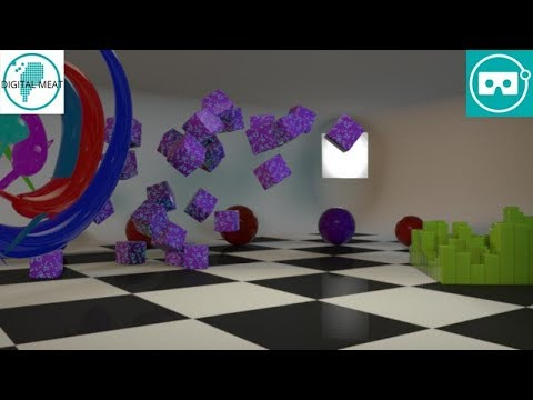 Abstract Room by @DigitalMeat3D