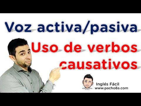 Aprende a diferenciar la voz activa y pasiva - Uso de verbos causativos en inglés.