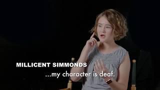 A Quiet Place | Featurette - Millicent Simmonds