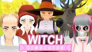 Witch Simulator (BRAND NEW Storyline?!) | Yandere Simulator Mod