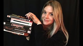 ASMR | Roleplay Bibliothèque 📚  / Book Tapping, Reading / Spécial Stephen King