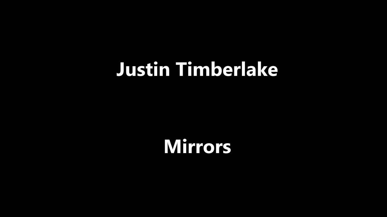 mirrors justin timberlake lyrics - YouTube