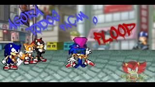 Everybody do the floop versão Sonic