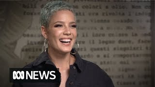 Halsey talks Shakespeare, songwriting and love