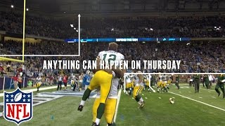 """Thursday Night Football  """"Anything Can Happen"""" 