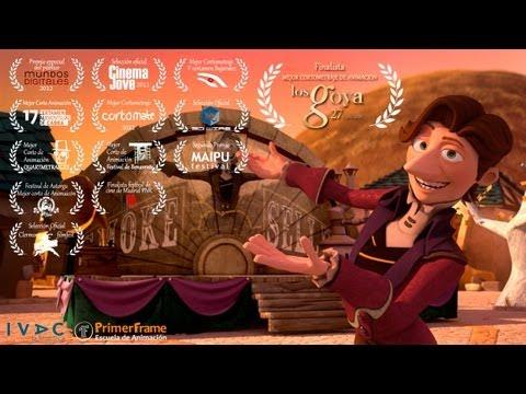 El vendedor de humo, un cortometraje premiado con un Goya
