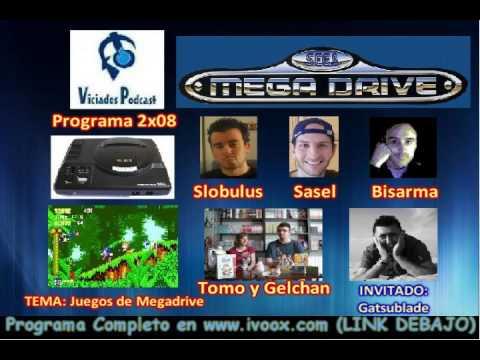 2ª Temporada RESUMEN Programa 8 (02-04-2013) || TEMA: Juegos de Megadrive