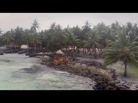 Drones para salvar las Maldivas