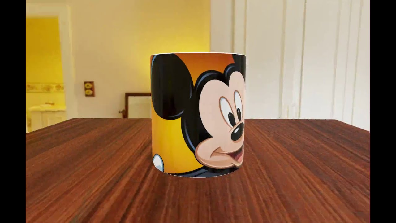 video Caneca Personalizada Mickey Mouse
