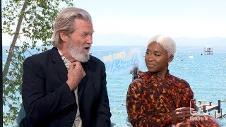 Cynthia Erivo and Jeff Bridges Interview BAD TIMES AT THE EL ROYALE
