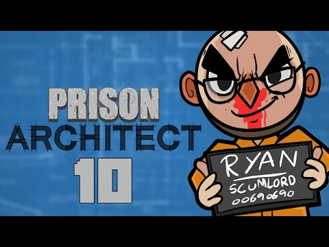 Prison Architect (Alpha 25) - Northernlion Plays - Episode 10 [Shakedown]