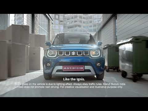 Maruti Suzuki IGNIS Urban city car| One of India's best hatchbacks for 2021, with SUV-style design