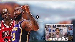 LeBron James vs. Michael Jordan: Who Is the True GOAT?   NBA Desktop   The Ringer