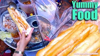 Street Food in Market, Asian Street Food, Fast Food Street in Asia #283