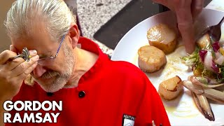Head Chef Cries When He Tastes Gordon's Food | Hotel Hell