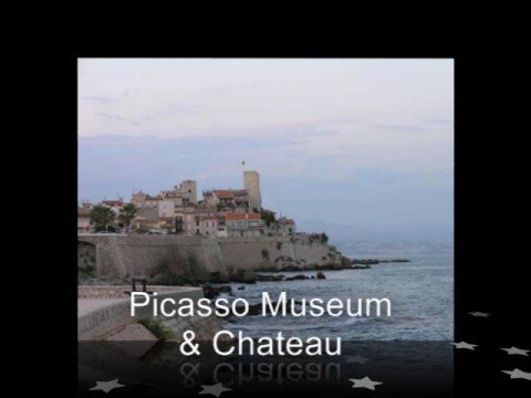 Cruise around Antibes at dusk where some of the best french real estate is for sale. By LivingFrance.tv