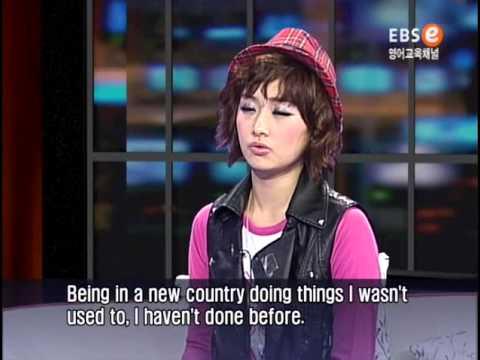 KARA's Nicole @ English Talk Show (1/2)