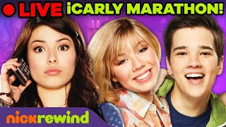 🔴 LIVE: Everything iCarly Marathon! | Nick Rewind